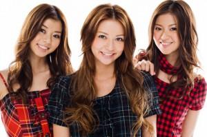 香里奈三姉妹