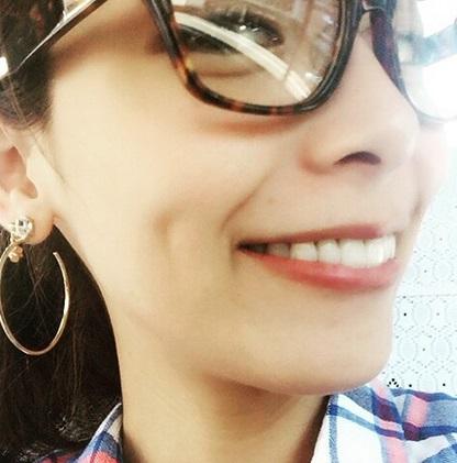 相武紗季 笑顔 八重歯消えた