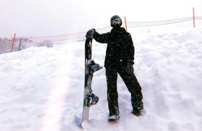 鈴木仁 スノーボード 運動大好き
